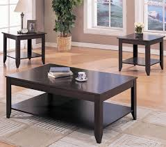Coffee And End Table Sets Wood Coffee Table And End Table Sets Best Gallery Of Tables