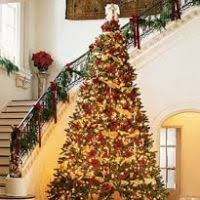 tree with gold decorations decore