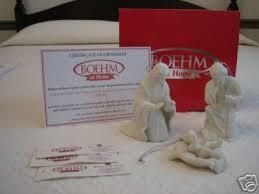 boehm at home 3 nativity porcelain ornaments 35310206