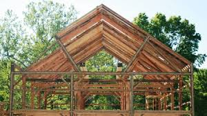Barn Truss Timber Frame Trusses Types Of Timber Frame Trusses By Trillium