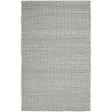 hand woven terni braided texture new zealand wool rug 5 u0027 x 8