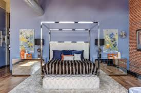 Contemporary Canopy Bed Metal Canopy Bed Idea Modern Wall Sconces And Bed Ideas