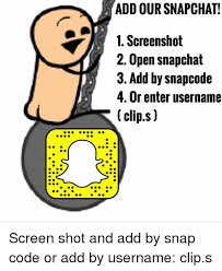 Add Meme To Photo - add our snapchat 1 screenshot 2 open snapchat 3 add by snapcode 4