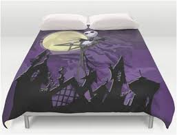 skellington tops nightmare before bedding