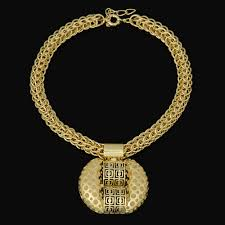 gold filled necklace set images 2016 latest fashion african jewelry set sparkling yellow gold jpg