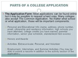 high school applications online preparing for the next step the college process objectives to