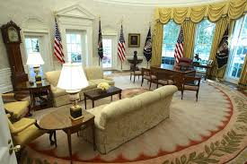 Obama Oval Office Decor In Pictures The Oval Office And West Wing After Renovations At