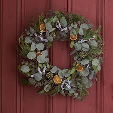 wreaths white flower farm