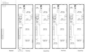 row house floor plans modern row house floor plans design planning houses building