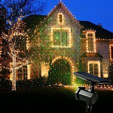 solar christmas light projector solar laser light valentine s day christmas lights waterproof 2