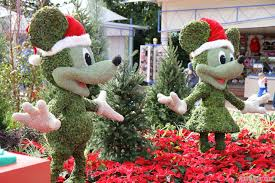 Christmas Decoration For Entrance by Epcot Main Entrance Decorations For 2012 Photo 4 Of 10