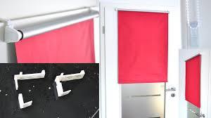darkening thermal roller blind window door clamp fix carrier