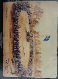White Flag With Red Cross On Blue Square 1854 The Eureka Flag Australia U0027s Migration History Timeline