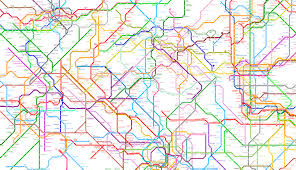 Tokyo Metro Map by The World Metro Map Links 214 Cities On Five Continents