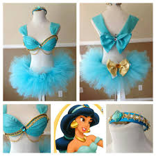 Rave Halloween Costume Princess Jasmine Inspired El Love Princess Themed