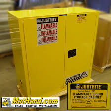 Yellow Flammable Storage Cabinet Justrite 40gallon Flammable Storage Cabinet