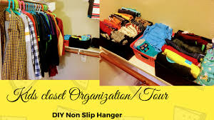 kids closet organization dollar tree closet tour and organization