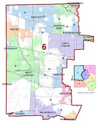 county map dupage county il official website district 6 map