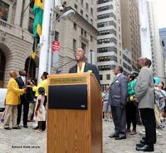 Jamaican Flag Day Jamaica 52nd Independence Flag Raising Ceremony