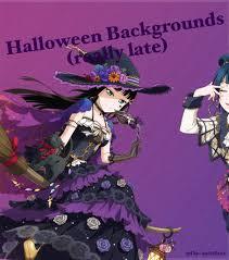 halloween set backgrounds love live amino