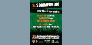 Bad Langensalza Rumpelburg 8 Sommerkino Und Musikspektakel In Bad Langensalza U003e Hainichland