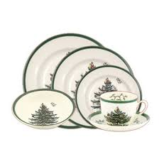havens spode tree 24 starter dinner set