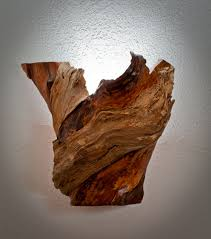 Driftwood Wall Sconce Wood Wall Sconce Jeffreypeak