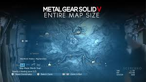 mgs5 africa map metal gear solid 5 the phantom open world map size