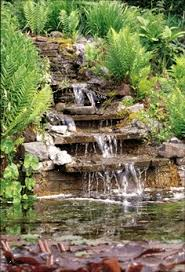 Fountains For Backyard by Backyard Waterfall Instructions Water Fountains For Yard And
