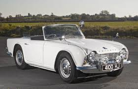 drift cars drawings triumph tr4 ex police car at historics at brooklands auction