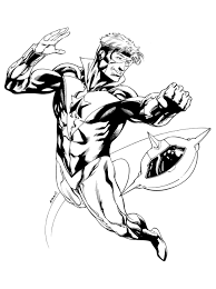 jla booster gold robert atkins art