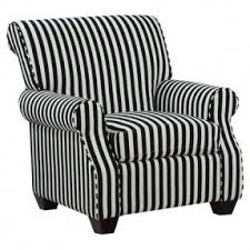 Black And White Striped Accent Chair Striped Accent Chair With Arms Foter