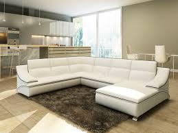 canapé d angle en cuir blanc canapé canapé cuir blanc unique canapé canapé d angle blanc