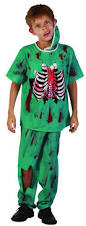 zombie doctor costume for kids vegaoo