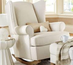 Wingback Chair Brisbane Wingback Rocker And Ottoman Nursery Rocking Chair Nursery Chair