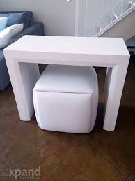 Ottoman Table Cube 5 In 1 Ottoman Seat Space Saver Expand Furniture Folding