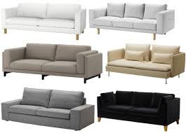 Karlstad Sofa Bed Slipcover Isunda Gray by Keeping Up In Canberra Home Front Living Room Part 2