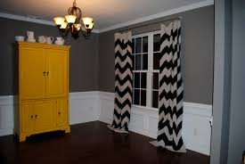 Gray And White Chevron Curtains by Gray Chevron Curtains Ideas U2014 Prefab Homes Decorate Room With