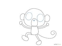 how to draw a monkey drawing factory clip art library