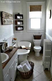 vintage farmhouse bathrooms decorating clear