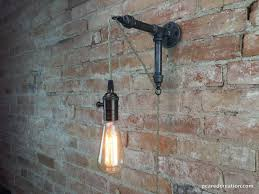 Wall Sconce Installation Wall Sconce Industrial Lamp Pendant Edison Industrial