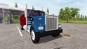 kenworth w900a kenworth w900a manure spreader for farming simulator 2017
