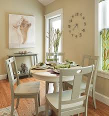 contemporary round small dining room simple beautiful style