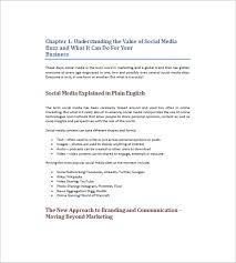 Plan Social Media 10 Social Media Marketing Plan Templates Free Sample Example