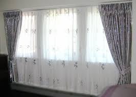 Silver Valance B0031 U2013 Sheer Curtain And Valance