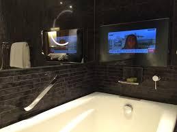 bathroom tv picture of hotel icon hong kong tripadvisor