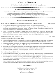 exles of customer service resume representative resume in usa sales representative