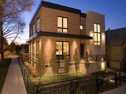 house design beauty contemporer white and grey paint modern style