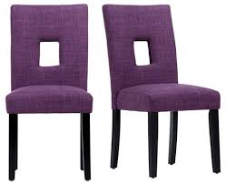 purple dining chairs modern look purple dining chairs inspire q phelan keyhole dining