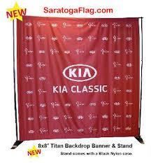 custom photo backdrop custom backdrop banner kit 8ft x 8ft fabric